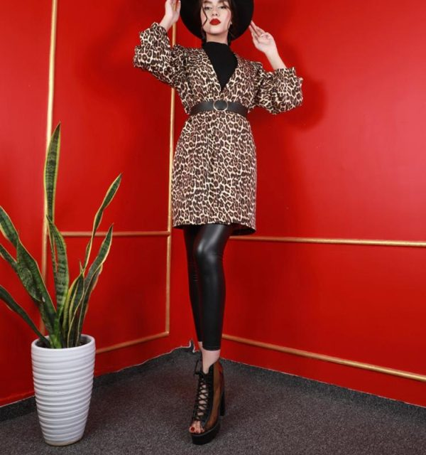 مانتو سال مد مدل کتی پلنگی