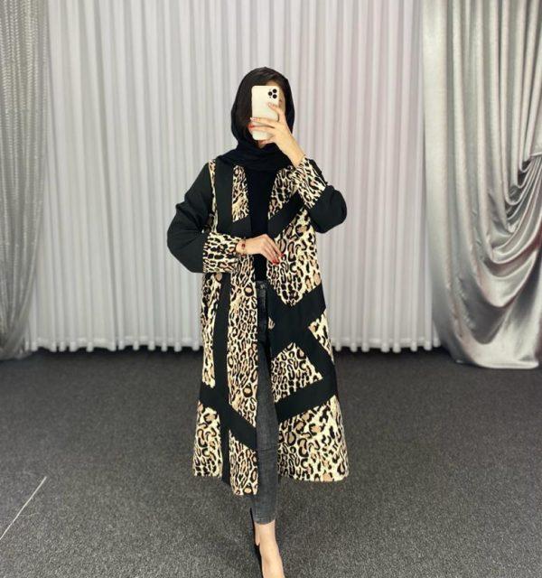 مانتو سال مد مدل کت پلنگی ویکتوریا