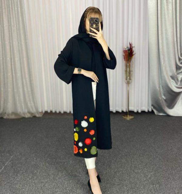 مانتو سال مد مدل سلین گلدوزی